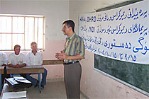 Trainer Karzan Fazel - Constitution Dialog project
